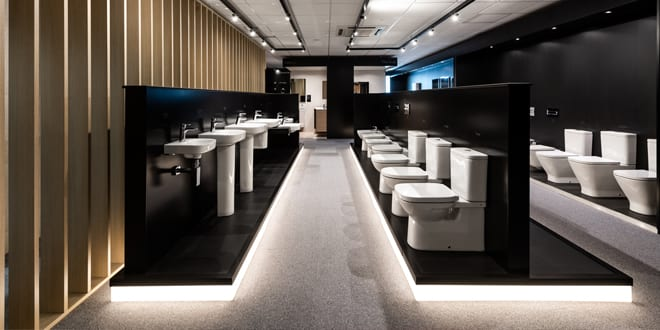 Popular - Roca launches new UK headquarters including an innovative new bathroom showroom