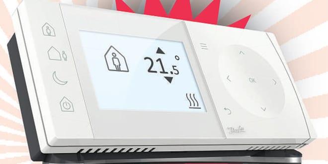 Popular - Five Danfoss smart controllers must be won!
