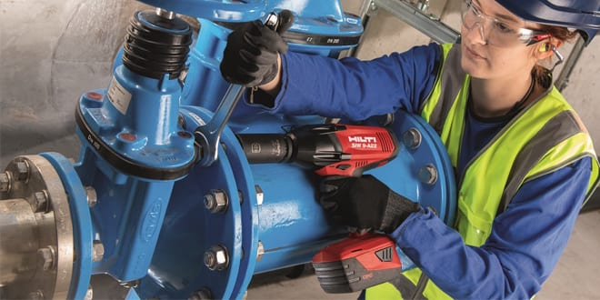 """Popular - Hilti launches new SIW 9-A22 heavy-duty, high-torque ¾"""" anvil cordless impact wrench"""
