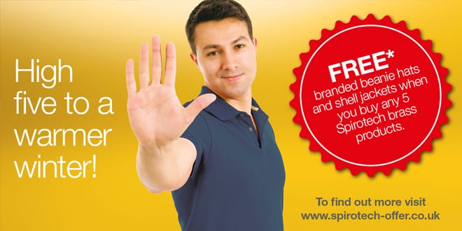 Popular - High five with Spirotech's new winter rewards promotion