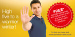 High five with Spirotech's new winter rewards promotion