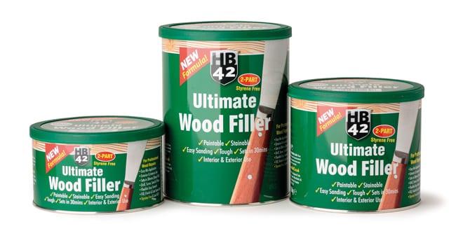Popular - Hilton Banks introduces new formula for HB42 Ultimate Wood Filler