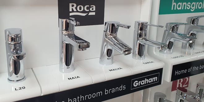 Popular - Graham launches new taps bars in all bathroom showrooms
