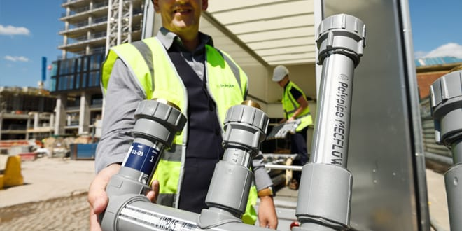 Popular - Polypipe Building Services introduces MecFlow – a new plastic water supply system for the UK commercial market