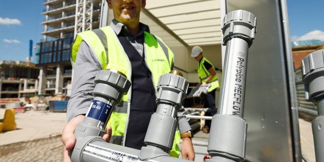 Polypipe Building Services introduces MecFlow – a new plastic water supply system for the UK commercial market