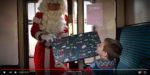 Baxi organises trip on the Santa Express for one lucky family