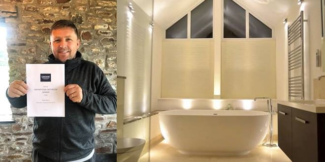 Popular - Mark Berry Plumbing & Heating crowned winner of GROHE's 'Inspirational Bathroom' competition
