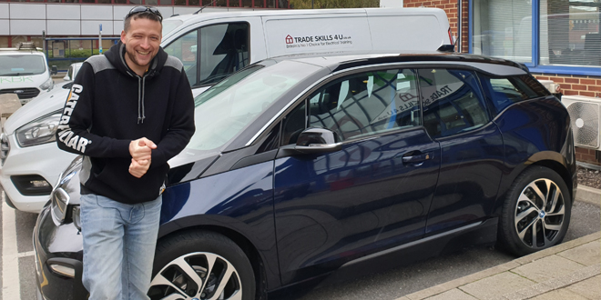 Trade Skills 4U and YouTuber Thomas Nagy push electric car to the limit