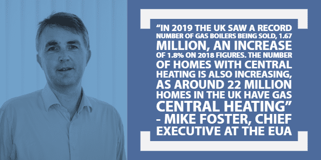 Popular - 2019 was record year for gas boiler sales