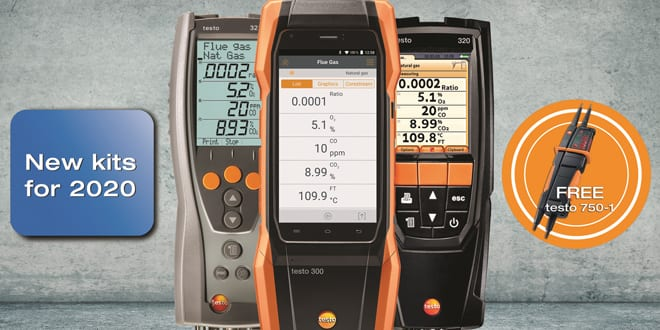 Popular - Testo offering free voltage tester to celebrate launch of six new analyser kits