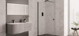 Aquadart launches Rolla 8 range of matt black frameless sliding doors with chance to 'Roll an 8'