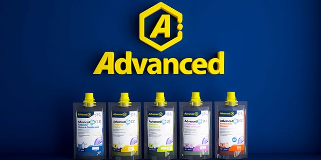 Popular - Advanced launches new range of compact HVAC/R cleaning gels