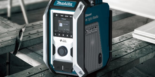 Popular - Makita launches DMR115 Job Site Radio – with Bluetooth functionality