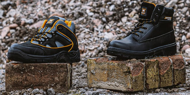 Popular - Toolstation launches new Maverick brand of work boots