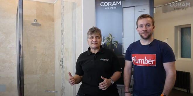 Popular - Unboxing the Coram Premier 8 sliding door enclosure with Hattie Hasan and Plumberparts