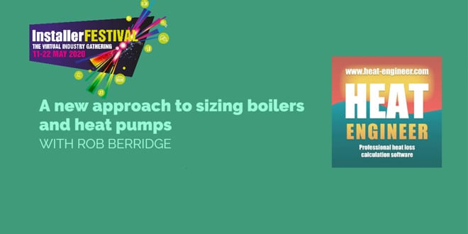 Popular - Watch: A new approach to sizing boilers and heat pumps