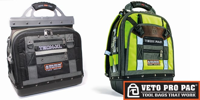 Popular - Veto Pro Pac Tech tool bags are built to last