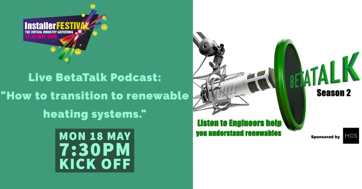 Popular - BetaTalk Podcast: How to transition into renewable heating systems