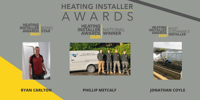 Popular - North West's Phil Metcalf takes top spot at national Heating Installer Awards