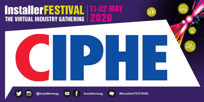 Popular - UK plumbing and heating industry – the new normal? Webinar hosted by CIPHE at InstallerFESTIVAL