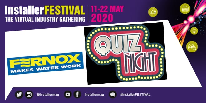 Popular - Put your knowledge to the test with the Fernox Pub Quiz 20 May 2020