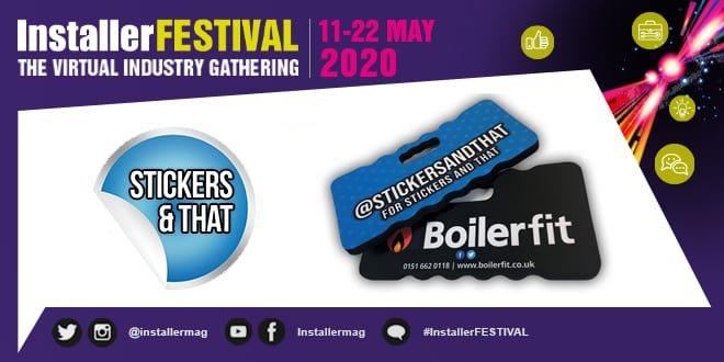 Popular - #InstallerFESTIVAL OFFER – Get 25% off personalised kneeling pads with Stickers And That