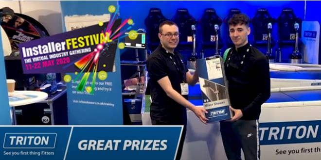 Popular - Win with Triton Showers at InstallerFESTIVAL