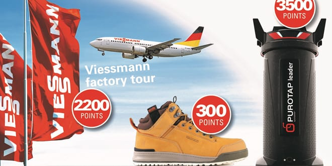 "Popular - Viessmann launches ""What you really want"" reward programme"
