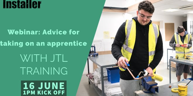 Popular - Webinar: Advice for taking on an apprentice