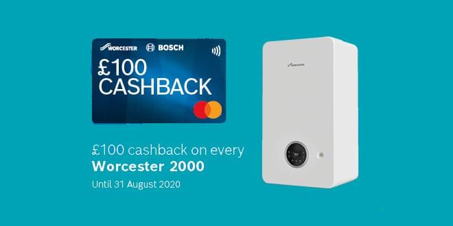 Popular - Worcester Bosch announces cashback offer on Worcester 2000 range
