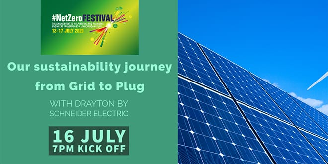 Popular - Webinar: Our sustainability journey from Grid to Plug