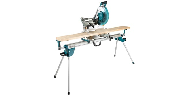 Popular - Makita launches portable WST07 mitre saw stand