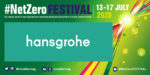 Webinar: The Importance of Water Saving with Hansgrohe at #NetZeroFestival