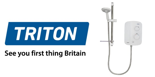 Popular - Silent shower pump technology from Triton