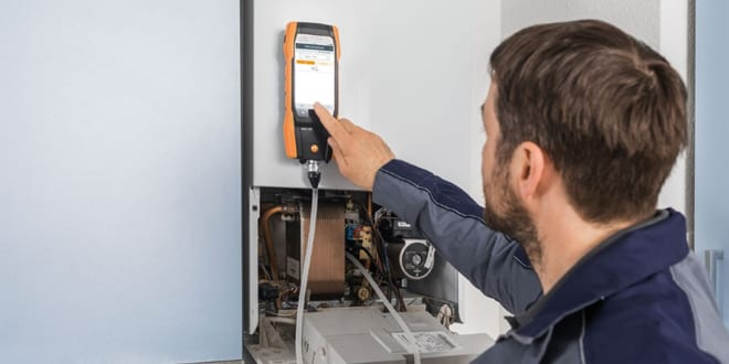 Popular - Offer: Get the first year service free with selected Testo flue gas analyser kits