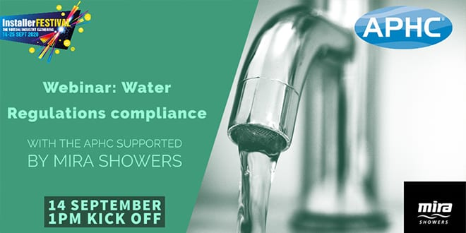 Popular - Webinar – Water Regulations compliance 14 September at 1pm