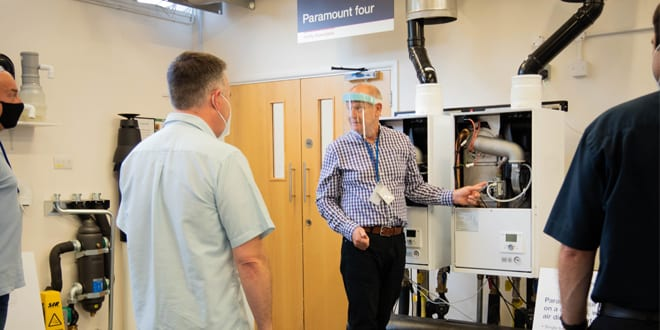 Popular - Baxi Heating reopens Warwick Commercial Training Academy