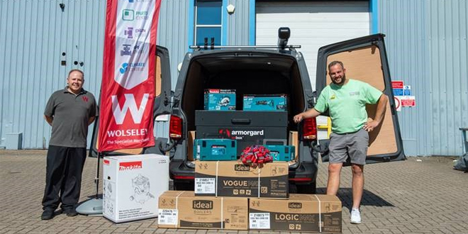 Ideal Boilers and Wolseley's epic giveaway winner announced