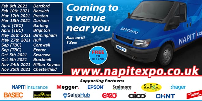 Popular - New dates for NAPIT EXPO 2021