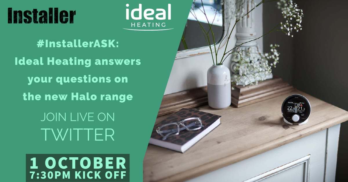 Popular - Live Twitter Q&A with Ideal Heating to learn more about new Halo range