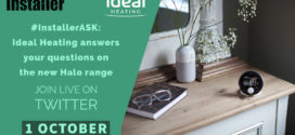 Live Twitter Q&A with Ideal Heating to learn more about new Halo range
