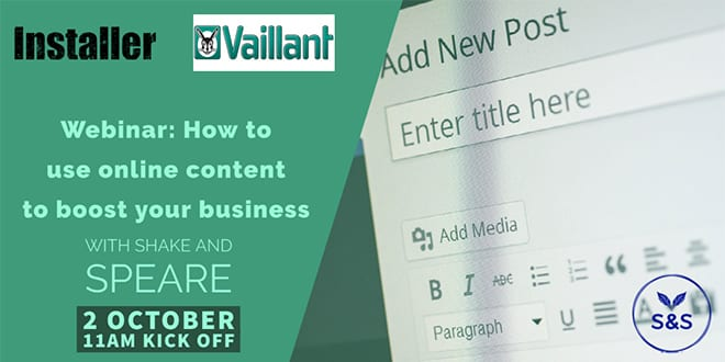 Popular - Webinar: How to use online content to boost your business