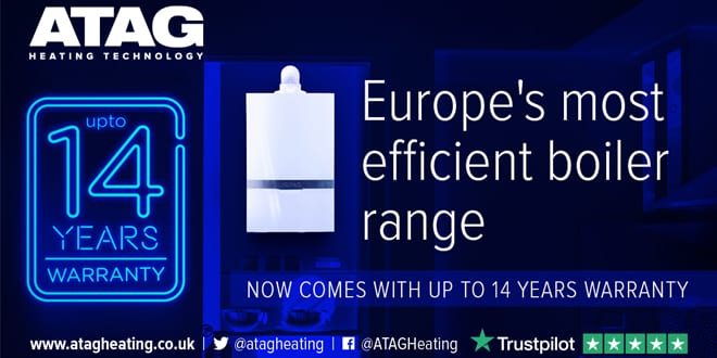 Popular - ATAG launches new 14-year warranty