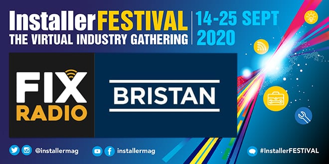 Popular - Fix Radio's Andy Cam will review Bristan's latest products at InstallerFESTIVAL