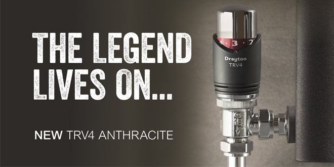Introducing the new TRV4 Anthracite from Drayton