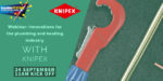 Webinar: Innovations for the plumbing and heating industry with KNIPEX