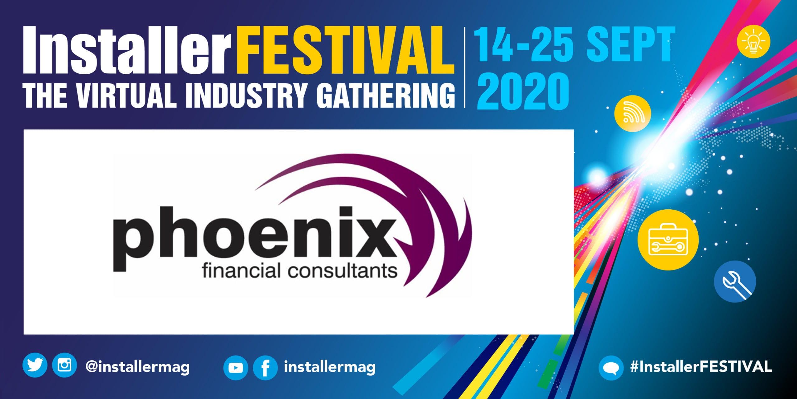 Popular - Phoenix Financial Consultants sponsors #InstallerFESTIVAL