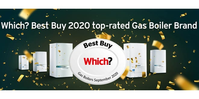 Popular - Vaillant ranked top UK gas boiler brand in Which? Best Buy 2020 report