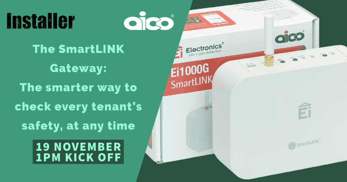 Popular - AICO joins InstallerFESTIVAL with webinar on the SmartLINK Gateway: The smarter way to check every tenant's safety, at any time