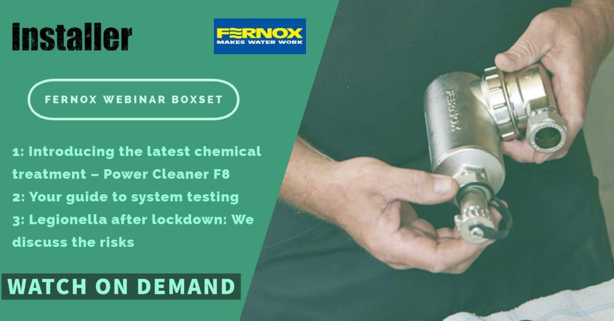 Popular - Fernox Webinar Boxset – top training sessions from Fernox